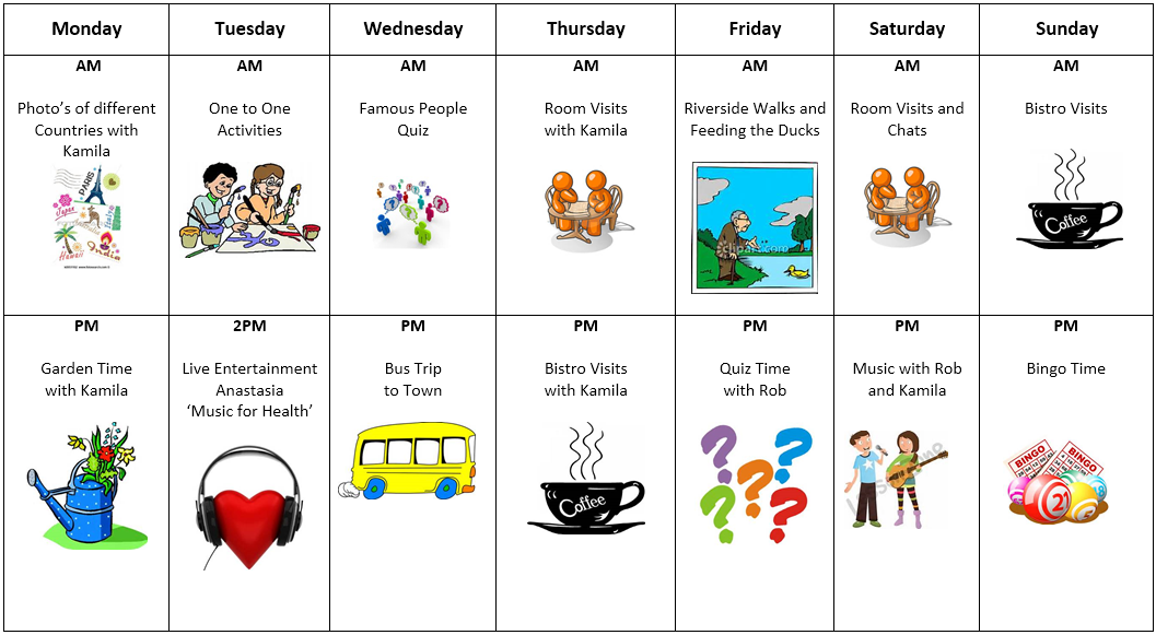 unit 8 activity plan s care Lesson plans with alternative teaching option unit 1 finding your place in the  world opening the unit   ______ discussing physical activities (ate, page 8 ) ______  ______ treatment of pullman porters (ate, page 331) ______.