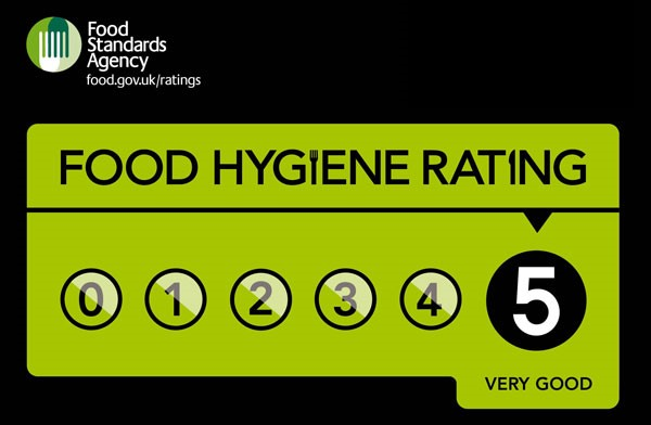 St Mary's Court offer 5 star food hygiene