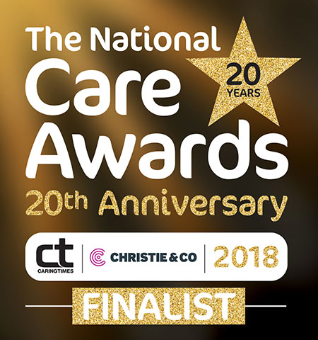 St Mary's Court are  finalists in the National Care Awards 2018