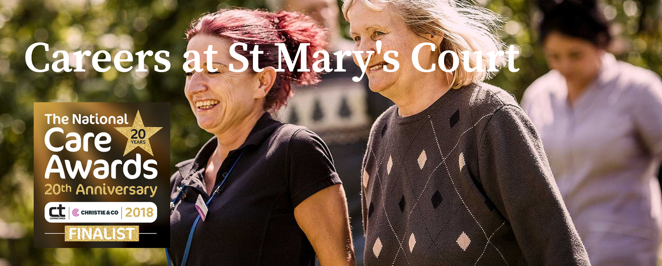 Careers at St Mary's Court Care Home Braintree
